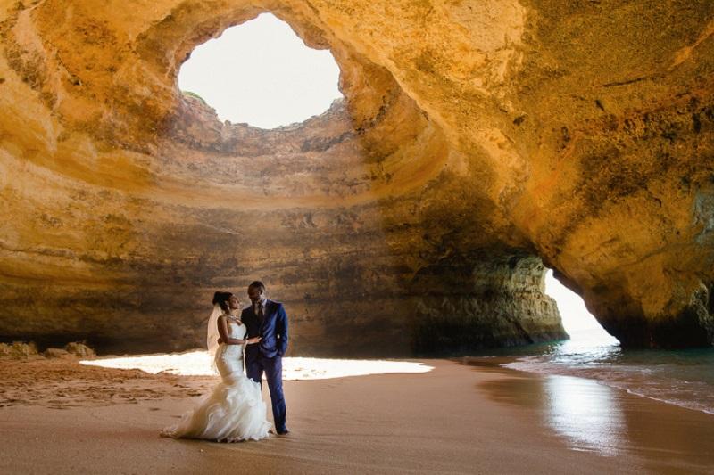 Lua de mel no Algarve