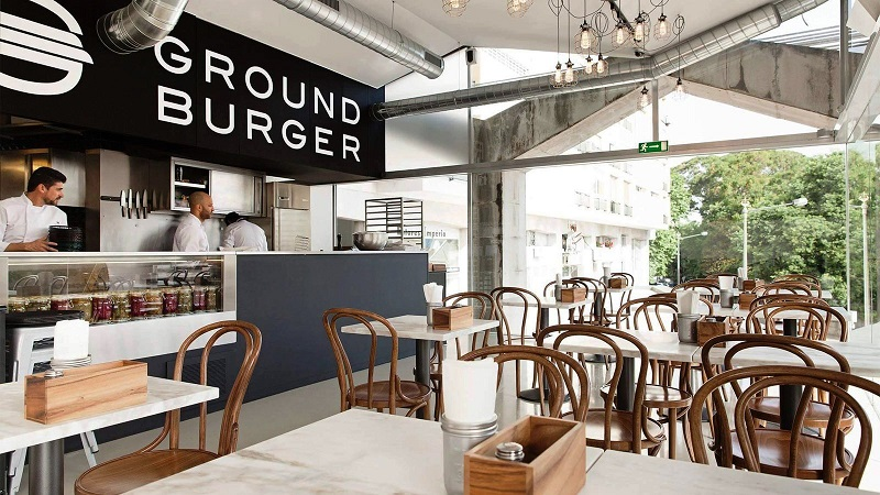 Ambiente do Ground Burger
