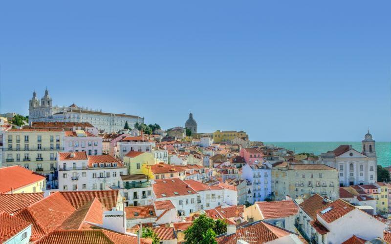 Vista de Lisboa - Portugal