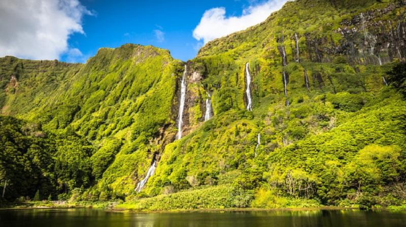 Cachoeiras nos Açores
