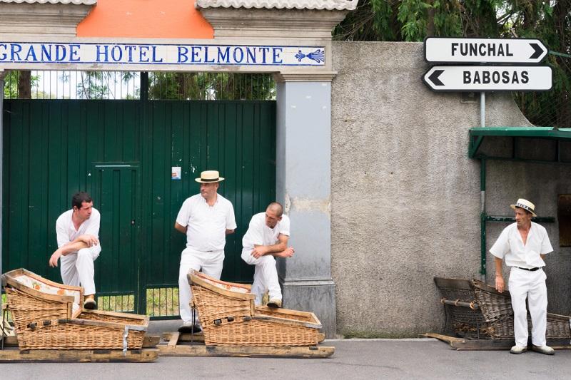 Carros de cesto do Monte: transporte típico da Ilha da Madeira