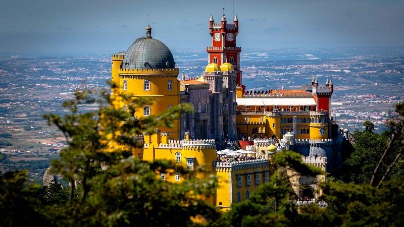 Palácio da Pena em Sintra, Portugal