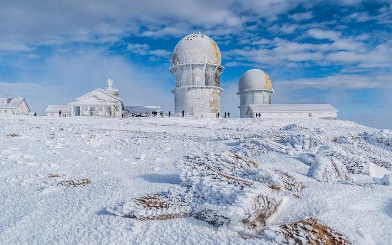 Inverno na Serra da Estrela